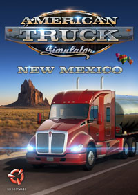Okładka American Truck Simulator: New Mexico (PC)