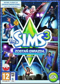 The Sims 3: Showtime Game Box