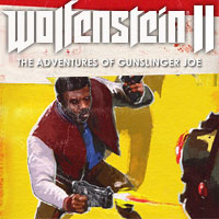 Game Wolfenstein II: The New Colossus - The Adventures of Gunslinger Joe (PS4) Cover