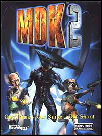 Game MDK 2 (PC) Cover