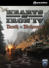 Hearts of Iron IV: Death or Dishonor Game Box