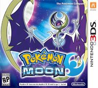 Game Pokemon Moon (3DS) Cover