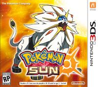 Game Pokemon Sun (3DS) Cover