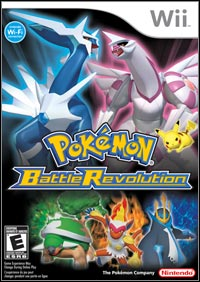 Game Pokemon Battle Revolution (Wii) Cover