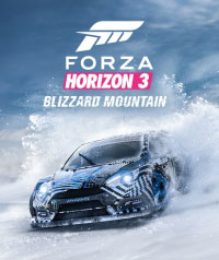 Forza Horizon 3: The Blizzard Mountain Game Box