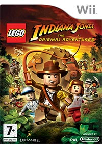Okładka LEGO Indiana Jones: The Original Adventures (Wii)