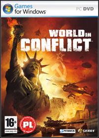 World in Conflict Game Box