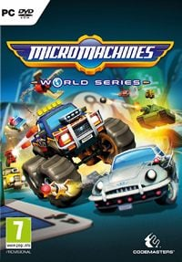 Game Micro Machines: World Series (PS4) Cover