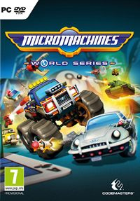 Micro Machines: World Series Game Box