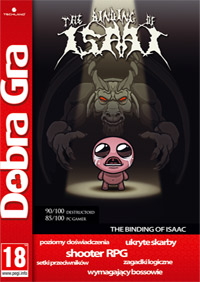 The Binding of Isaac Game Box