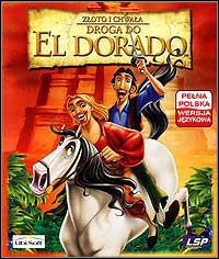 Gold and Glory: The Road to El Dorado Game Box