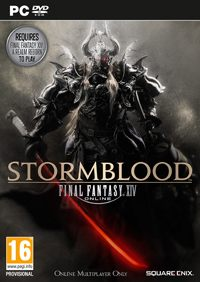 Game Final Fantasy XIV: Stormblood (PS4) Cover