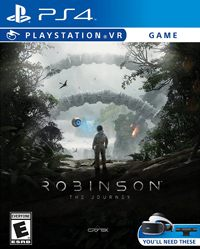 Game Robinson: The Journey (PS4) Cover