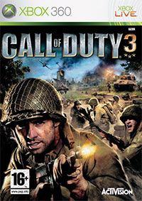Okładka Call of Duty 3 (X360)