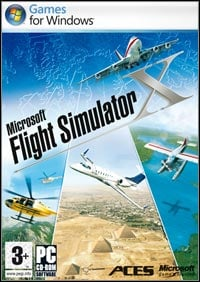 Microsoft Flight Simulator X Game Box