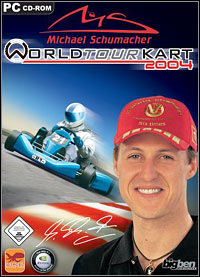 Game Michael Schumacher World Tour Kart 2004 (PC) Cover