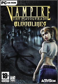 Vampire: The Masquerade - Bloodlines Game Box