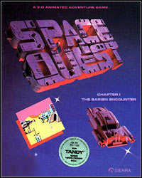Game Space Quest: The Sarien Encounter (PC) Cover