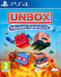 Game Unbox: Newbie's Adventure (PS4) Cover