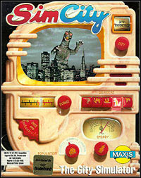 SimCity (1989) Game Box