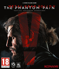 Metal Gear Solid V: The Phantom Pain Game Box