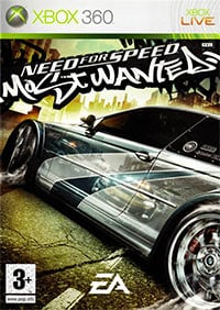 Game Need for Speed: Most Wanted (2005) (X360) Cover