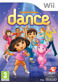Game Nickelodeon Dance (X360) Cover