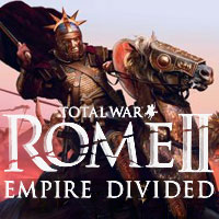 Total War: Rome II - Empire Divided Game Box