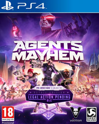 Okładka Agents of Mayhem (PS4)