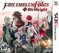 Game Fire Emblem Fates: Birthright (3DS) Cover