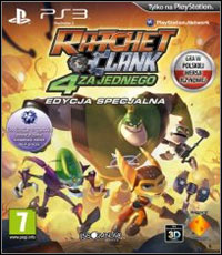 Okładka Ratchet & Clank: All 4 One (PS3)