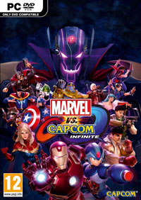 Game Marvel vs. Capcom Infinite (PS4) Cover