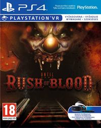 Until Dawn: Rush of Blood Game Box