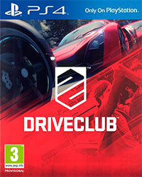 DriveClub Game Box