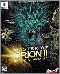 Game Master of Orion II (PC) Cover