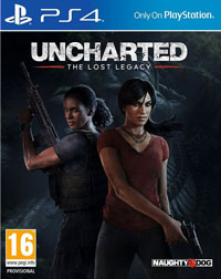 Game Uncharted: The Lost Legacy (PS4) Cover