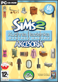 Okładka The Sims 2: Kitchen & Bath Interior Design Stuff (PC)