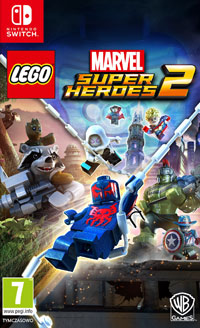 Okładka LEGO Marvel Super Heroes 2 (Switch)