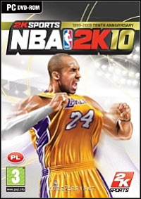 Okładka NBA 2K10 (PC)