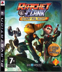 Ratchet & Clank Future: Quest for Booty Game Box
