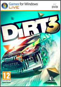 Game DiRT 3 (X360) Cover