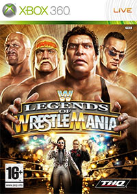Okładka WWE Legends of WrestleMania (X360)