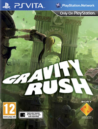 Game Gravity Rush (PSV) Cover