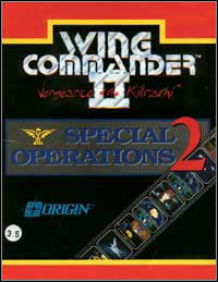 Wing Commander II: Special Operations 2 Game Box