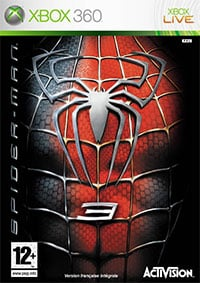 Okładka Spider-Man 3: The Game (X360)