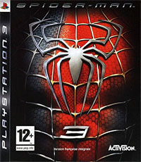 Okładka Spider-Man 3: The Game (PS3)