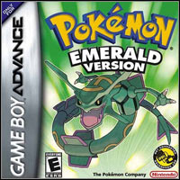 Okładka Pokemon Emerald (GBA)
