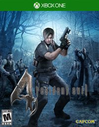 Game Resident Evil 4 HD (X360) Cover