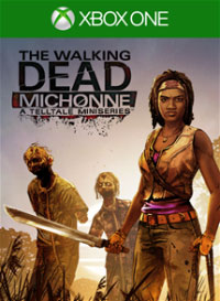 Game The Walking Dead: Michonne - A Telltale Games Mini-Series (PS4) Cover