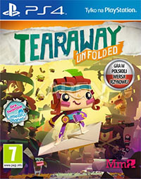 Game Tearaway Unfolded (PS4) Cover